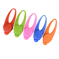Newest Waterproof Safety Flashing Luminous LED Pet Silicone Collar Clip On Pendant light For Dogs Cats Night Walking