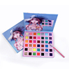 New Designs Makeup Beauty Girl 42 Color Shimmer Matte Glitter Eye Shadow Private Label High Pigment Eyeshadow Palette