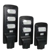 High lumen ABS Waterproof Outdoor Lamp IP65 30w 60w 90w Integrated All In One Led Solar Street Light