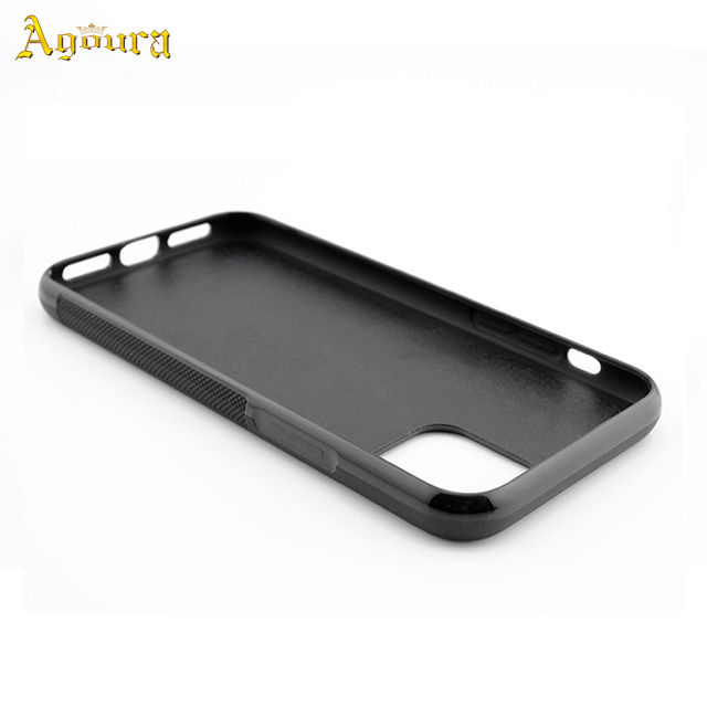 For Apple iPhone11 6.5 inches high quality two-in-one carbon fiber tpu pc case