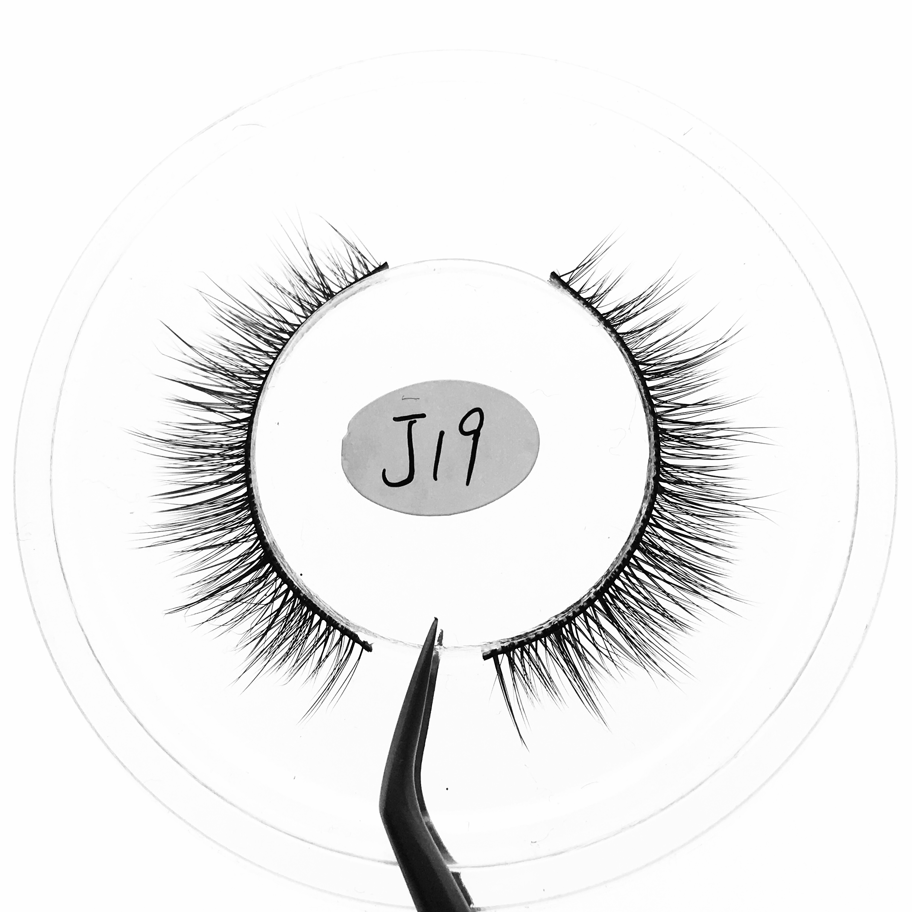 3d synthetic eye lashes private label eyelashes vendors best selling 2019
