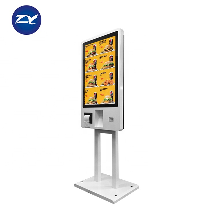 32 Inch all in one lcd touch screen self service machine <strong>payment</strong> kiosk for government gas station