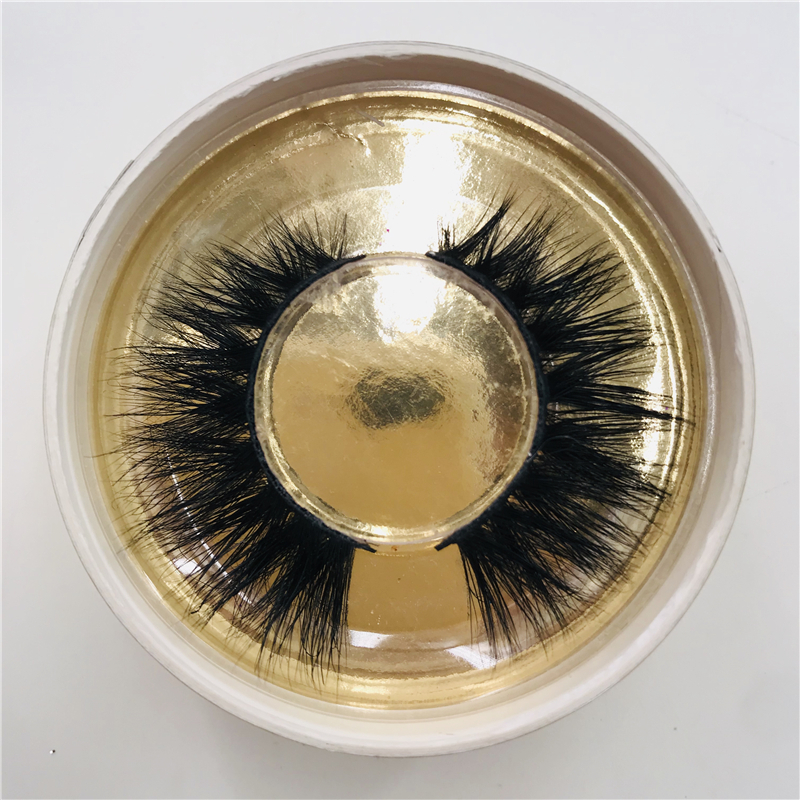 3D eyelashes handcrafted natural Siberian mink lashes wear comfortable 20mm lashes the latest fashion for slim eyelashes in <strong>a</strong> ro