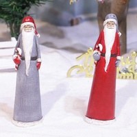 2020 new products christmas decor resin santa claus gift, wholesale hand made resin santa decoration^