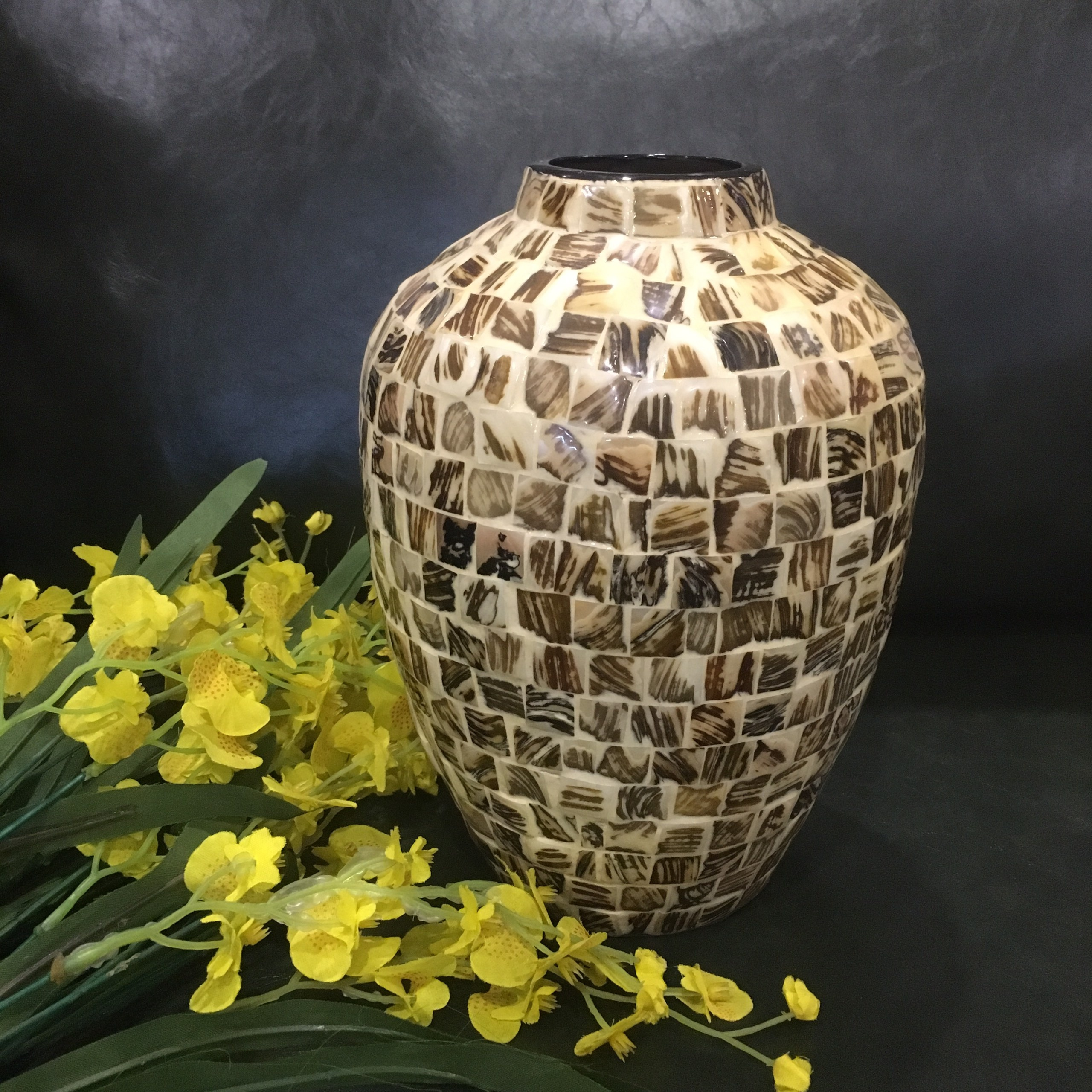 Rectangular flower vase pot, wholesale flower vase from Vietnam