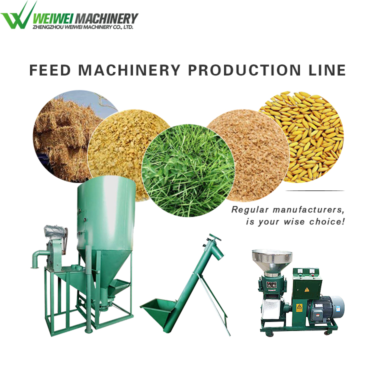 Weiwei feed making the newest pellet poultry feed production line