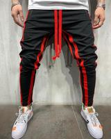 Wholesale Custom Track Boys Sport Men's Trousers Pants 100% Polyester Joggers