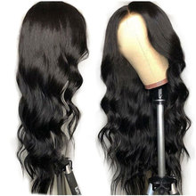 Free sample Body Wave Lace Frontal Wig Brazilian Remy Human Hair Wigs With Baby Hair For Women Pre Plucked Bleached Knots