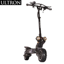 ULTRON T108 Foldable 60V3200W High Speed 80Km/h 2 Wheel Adult 11 Inch Dual Motor Off Road Electric Scooter With 45A Controller