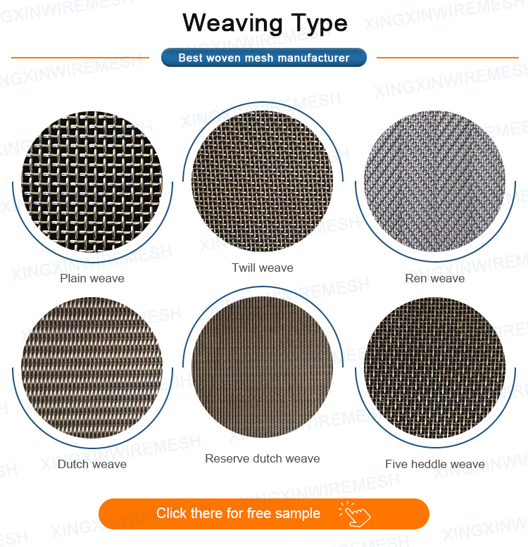 stainless mesh woven mesh / 0.1mm stainless steel wire mesh / 160 micron woven stainless steel wire mesh