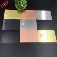 Customized Metal Blank Visa Credit Cards,Blank Vise Debit Card Emv Chip In Stock