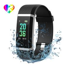 Fitness Tracker, Color Screen Activity Tracker with Sleep Monitor Heart Rate Monitor Calorie Counter IP67 <strong>Smart</strong> <strong>Watch</strong> with Step