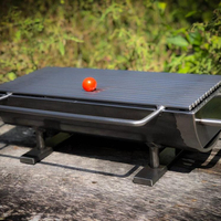 Easily Assembled Feature Stainless Steel BBQ Grill