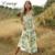 2020 New Arrivals Women Casual Summer Dresses Floral Suspender Dresses For Ladies