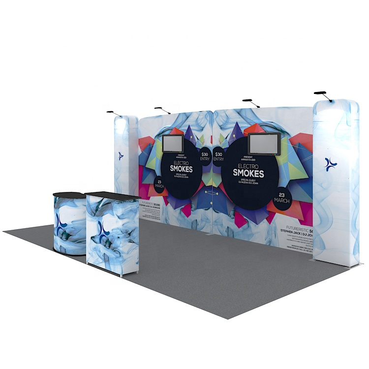 Durable 10x20 Aluminum Easy Assemble Display Booth for Trade <strong>Show</strong>