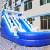 Outdoor Game Inflatable Bouncer Amusement Inflatable Slide For Kids