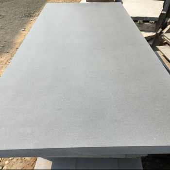 Hainan bluestone swimming pool copping and lignt grey basalt tile