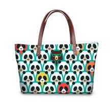 fur ladies's patterns making <strong>foxer</strong> Panda Print handbags for Women