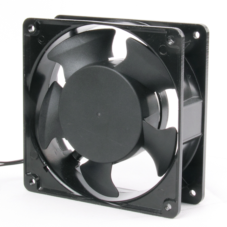 12038 120mm <strong>AC</strong> fan 240V aluminum brushless ball bearing fans cooling industry