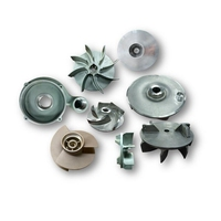 precision investment casting stainless steel pump impeller with balanced testing