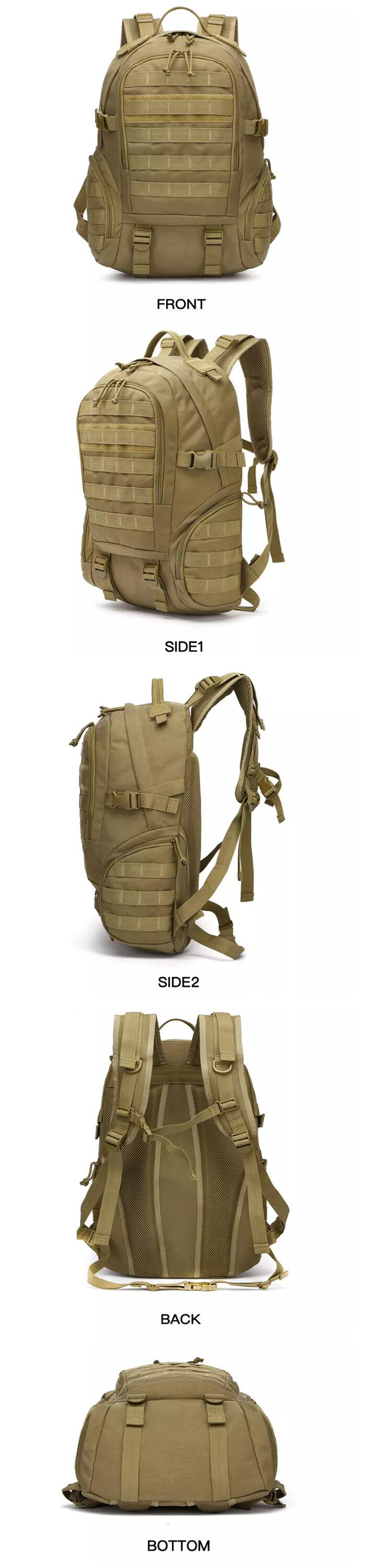 Newest Anti Theft Backpack Laptop Hiking Military Tactical Backpack
