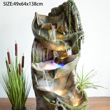 Wholesale New Resin Indoor Home Garden Decoration Water Fountain