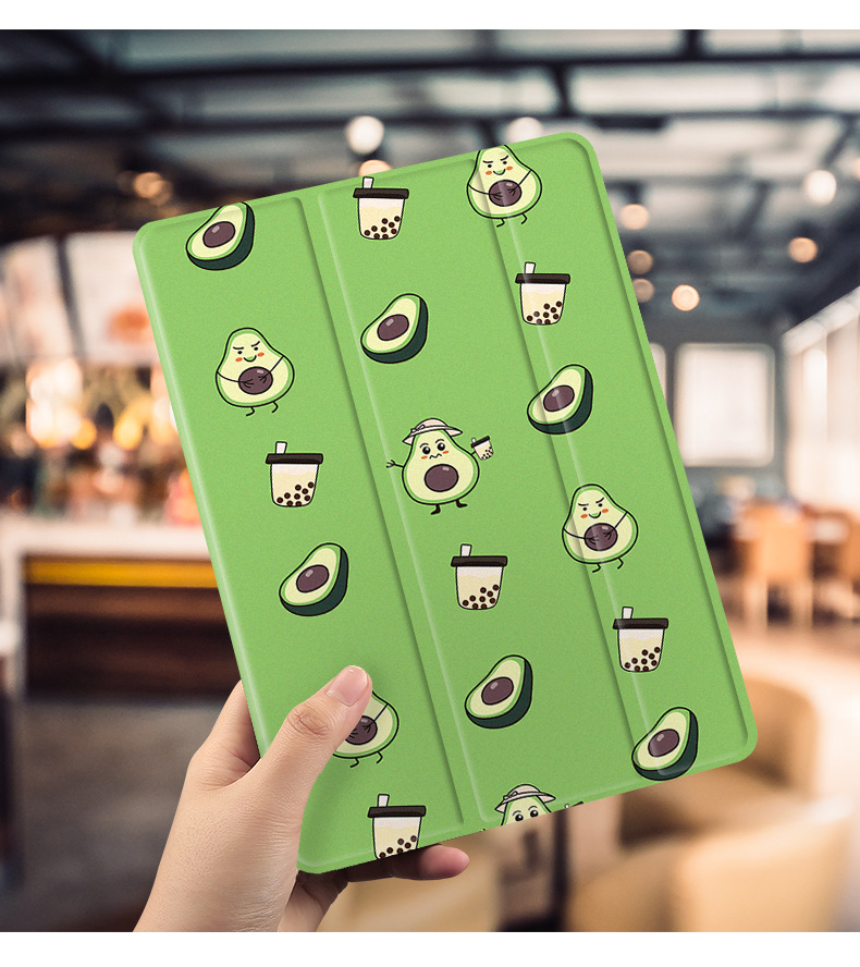 Avocado Frui't Magnet Flip Cover For iPad Pro 9.7 Air <strong>3</strong> 10.5 11 Mini 1 2 <strong>3</strong> 4 5 2019 Tablet Case Soft Back for iPad 9.7 2017 2018