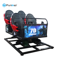 Hot Sale Dynamic Extreme Theme <strong>3D</strong> <strong>Glasses</strong> 9D <strong>VR</strong> 7D Cinema theater 9 Seats