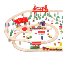 OEM Wooden Train Set With Accessories ceramic christmas train