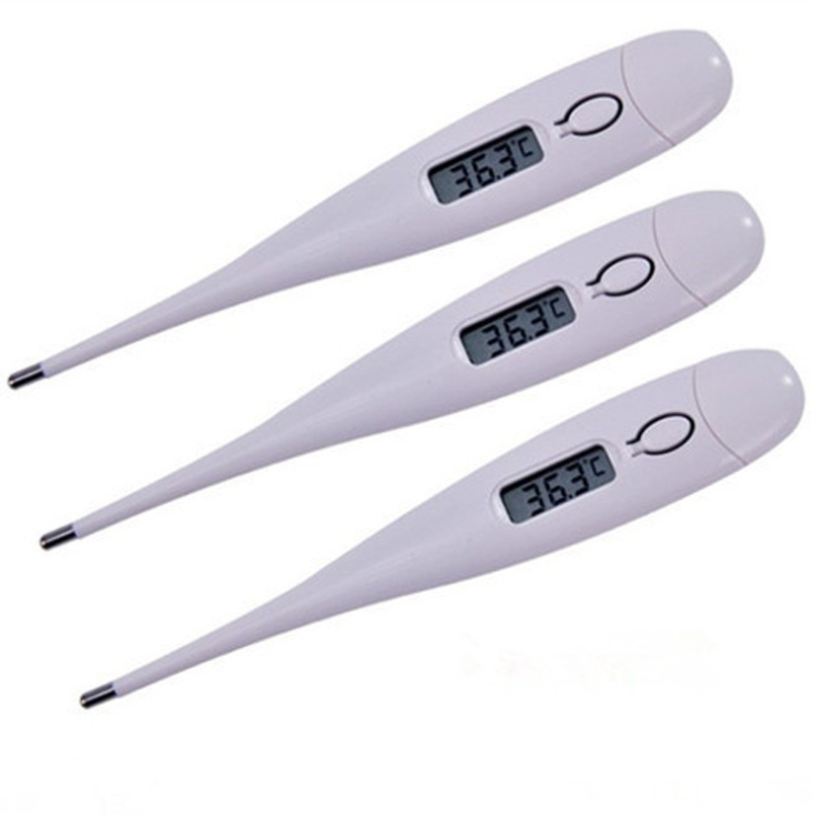 2020 Portable Waterproof Safe Baby Adult Body Digital LCD Display Accurate Heating Thermometer
