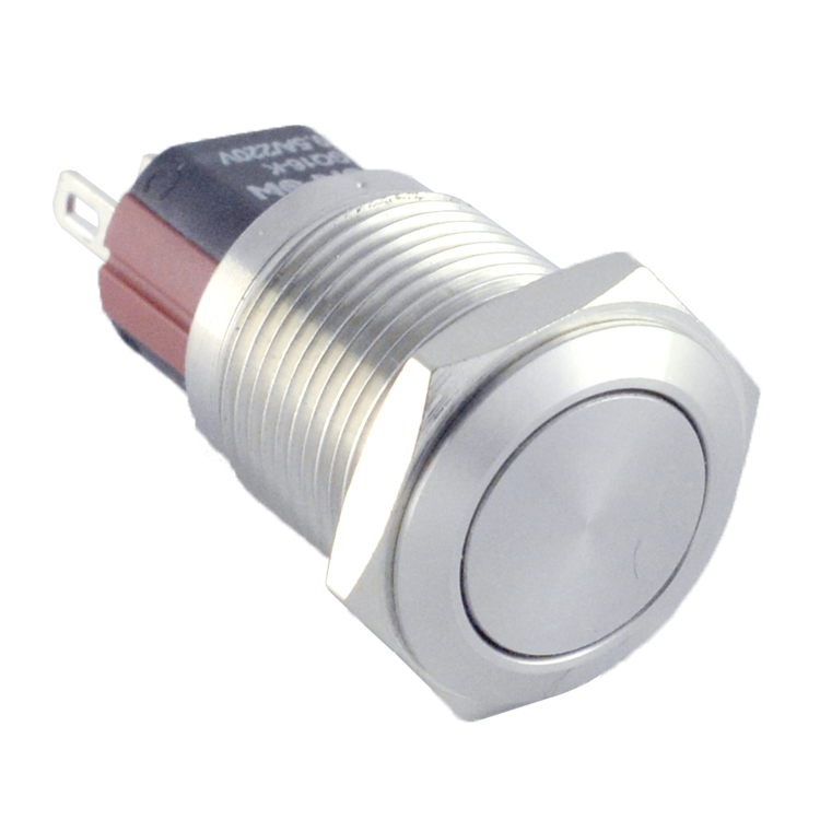 ONPOW GQ16-KF-<strong>11</strong>/<strong>J</strong>/S 16mm push button switch,stainless steel,IP65