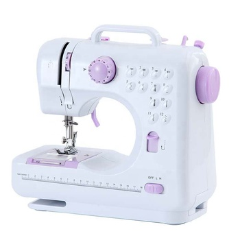Chinese wholesale multifunction home use Small size portable mini electric sewing machine