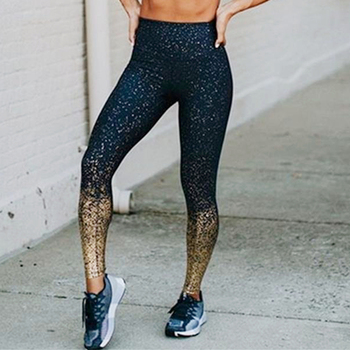 Groothandel nylon fashion shiny vrouwen workout fitness legging