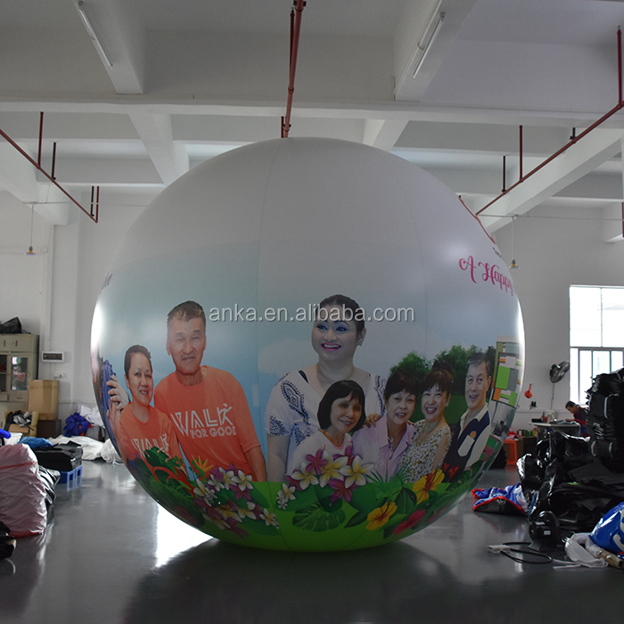 Giant inflatable pvc wholesale balloons with helium for advertising