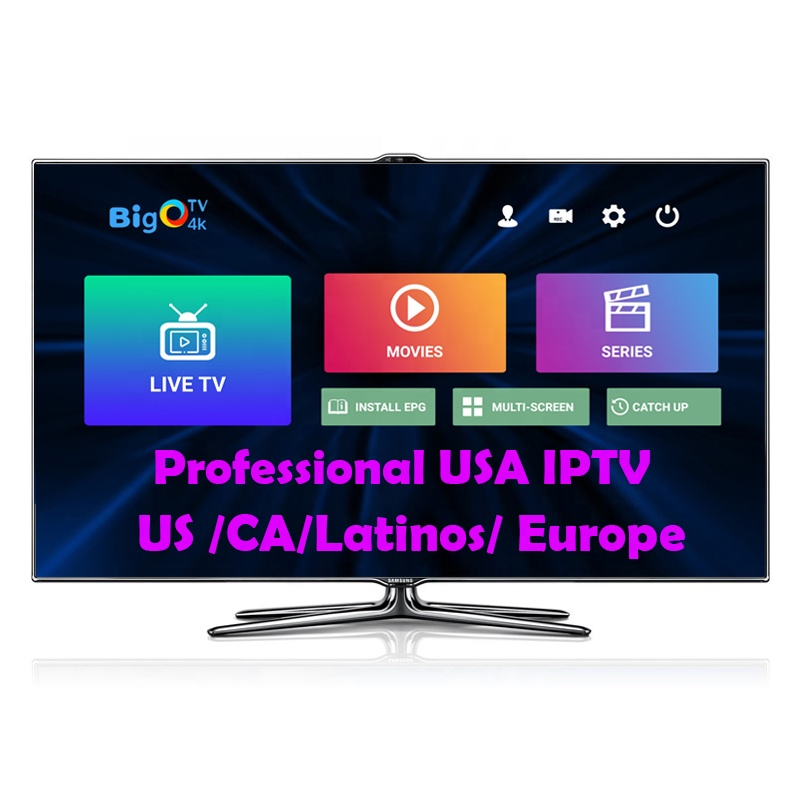 High Quality IPTV with Australia Indian Mexico Channel US Server Stable in Android Box Smart TV M3U List Latinic IPTV <strong>Providers</strong>