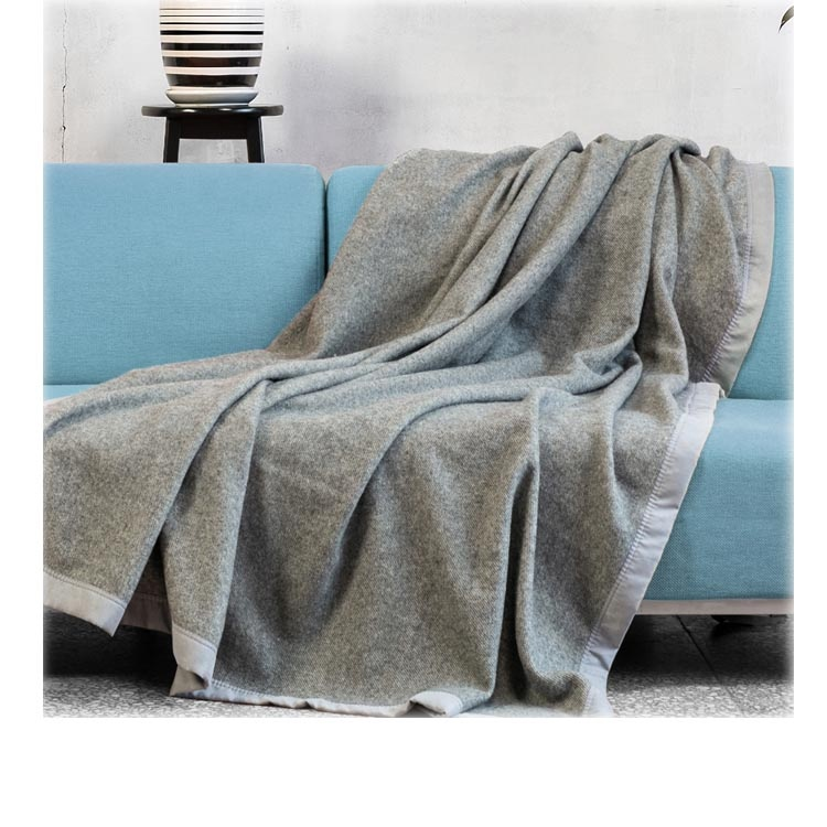 Wholesale 100% Pure Mongolian Camel Sheep Merino Wool Blanket <strong>Plaids</strong>