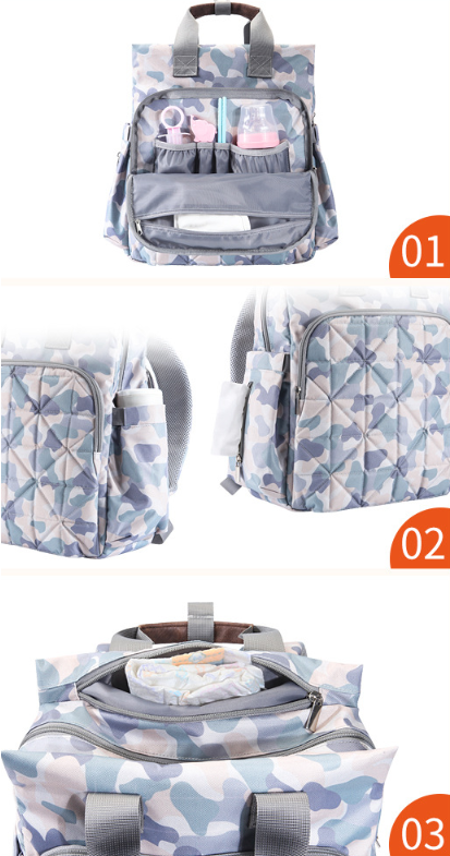 Multifunctional Infant Baby Mummy Diaper Bag For Mother Outdoor Travel