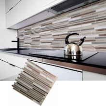 Kitchen <strong>Wall</strong> Sticker Tiles <strong>Bathroom</strong> <strong>Wall</strong> <strong>Decor</strong> 3D Effect Peel and Stick Tile Backsplash Home Decoration