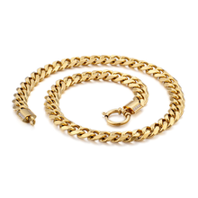 Wholesale 10mm Gold Neck <strong>Chain</strong> Designs Gold Men Jewellery 316l Stainless Steel Curb Cuban Link <strong>Chain</strong>