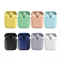 Free Sample OEM Logo Matte Charging Box Inpods12 Headset Wireless Earphone Tws 5.0 Bluetooths ipods wireless Earbuds Inpods12