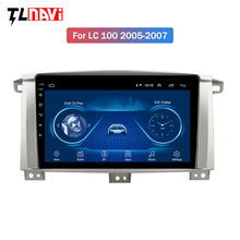 Rádio do carro para Toyota Land cruiser 100 LC100 LC 100 2005-2007 multimedia player de rádio Auto Android 10