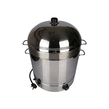 25L  Kitchen Cooking Pot Electric Corn Rice Steamer