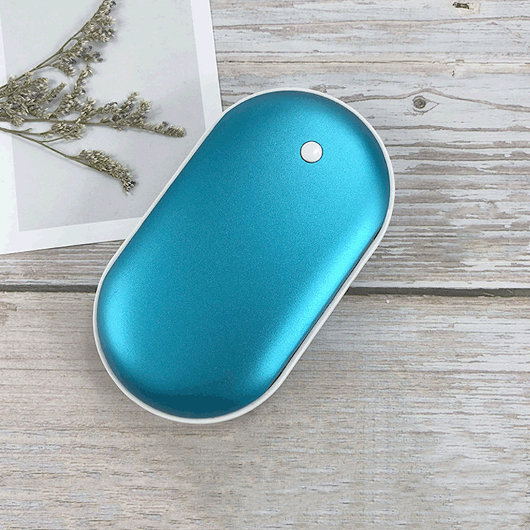 Winter portable Pocket <strong>Mini</strong> Electric Rechargeable USB Hand Warmer Power Bank 4000mAh