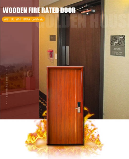 GH WHI UL Wooden Fire Rated Door