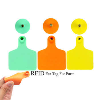 Factory directly ! TPU UHF RFID Animal Ear Tag For cattle / cow