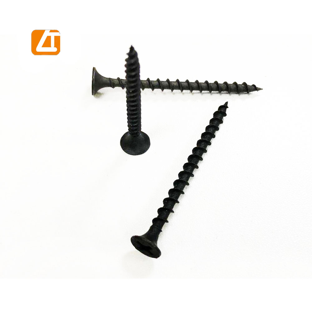 Hot Selling High Quality Stainless Steel Black Phosphated <strong>Drywall</strong> <strong>Screw</strong>