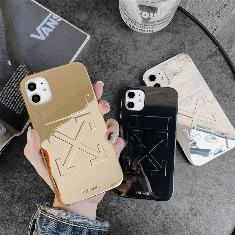 Modern metallic finishing design iphone cases O/W style fashion stylish protective <strong>cover</strong> for all iphone models
