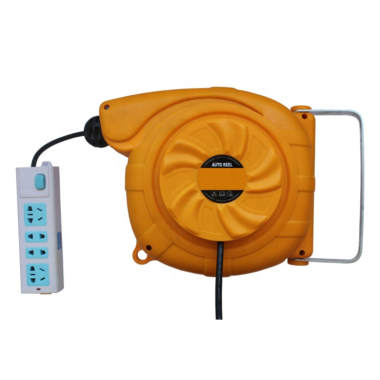 construction tool electricity extension LS150 retractable Cable reel,automatic cord rewinder