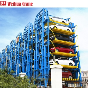 Drive Electric Rotating Project With Germany Brand Motor Vertical Automated Smart Tower Car Lift Rotary Parking System