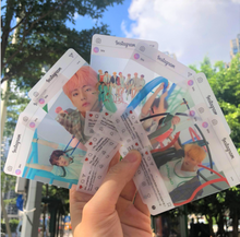8 pcs Per Set K-pop BTS Army Gift Collection Birthday Album All Members Transparent Photo ID Lomo Ins <strong>Card</strong>